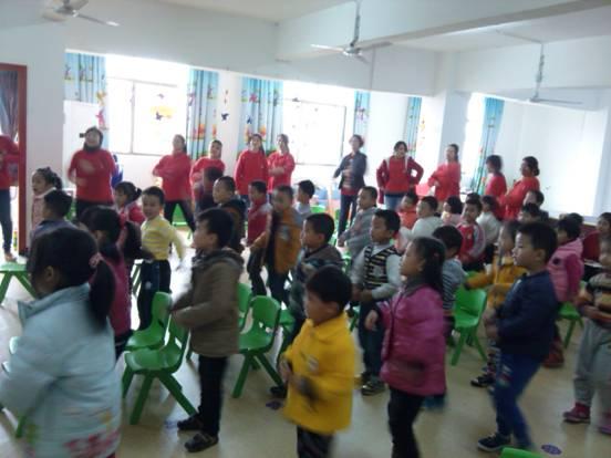 迪斯尼园外园联合举行幼儿音乐律动观摩活动