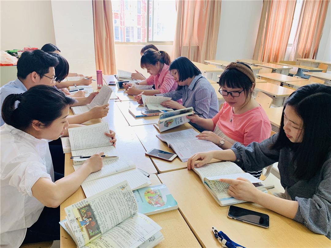 南昌现代外国语象湖语文小学部学校事件备课概率与集体教学设计图片